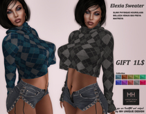 === GIFT===MH-Elexia Sweater Collection
