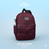 Bleich - Vodka Backpack - Burgundy