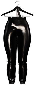 Indigo - Devyn Patent Leggings In Black