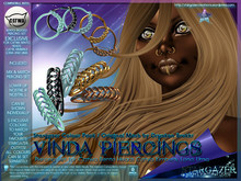 [Stargazer Creations] Piercing Set - Vinda (Brokkr Colab)