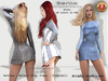bag Dress Raven BENTO W/CH *Arcane Spellcaster* Ak-Creations