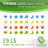 "FURWARE pairs add-on textures ""4times8"" by Tom Lowe"