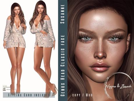 Nippes&Zeusch Genus Classic Face - Shape Susanne