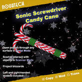 Sonic Screwdriver, Candy Cane