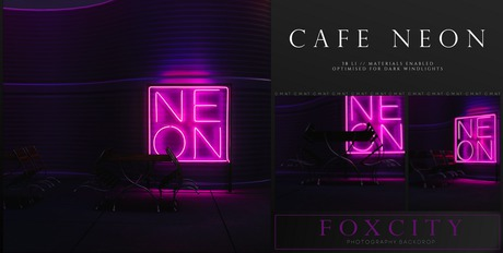 FOXCITY. Photo Booth - Cafe Neon