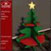 KK HOME - CHRISTMAS TREE DISPLAY SHELF, Christmas store display