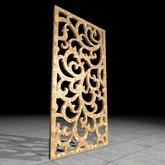 [L.W.T] 3D Floral Scroll Divider ❤ Full Perm