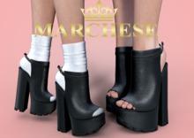 ...:::Marchese:::... Elis Chunky Heel Shoe