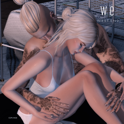 [ west end ] Poses - Scent of You - Couples Pose (add)
