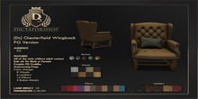 [Ds] Chesterfield Wingback PG
