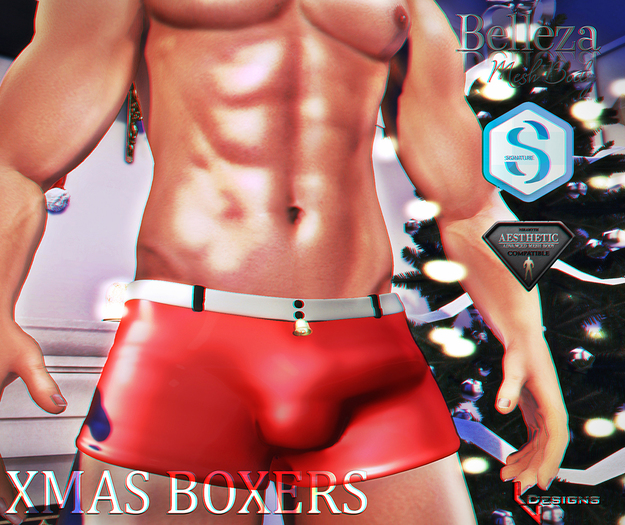 ::LV:. Xmas Boxers - Regular Pack