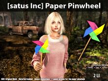 [satus Inc] Paper Pinwheel