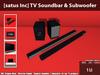 [satus Inc] TV Soundbar & Subwoofer