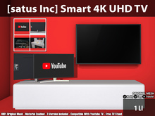 [satus Inc] Smart 4K UHD TV