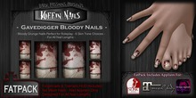 DP - Koffin Nails - FatPack - Gravedigger Bloody (Box)