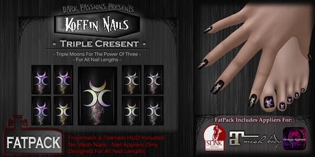 DP - Koffin Nails - FatPack - Triple Crescent (Boxed)