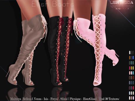 [ LsR Shoes ] - Elish Boots