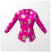 Td pink fucshia shirt