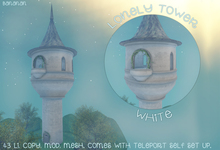 Lonely Tower - White