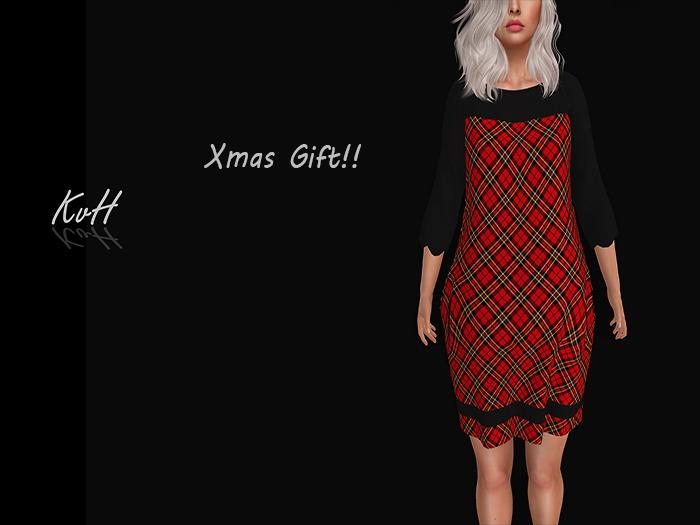 *KvH*  Xmas dress 2018 /red 1