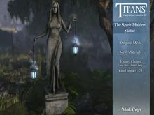 Titans - The Spirit Maiden Statue