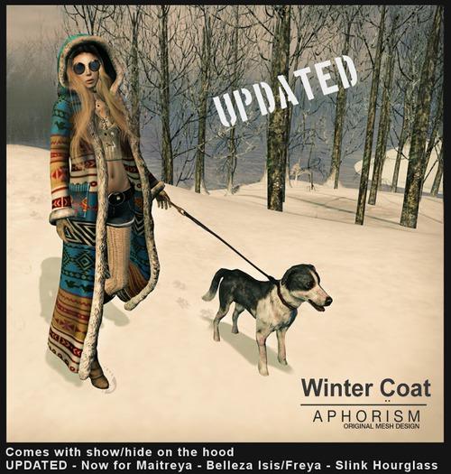 !APHORISM! Winter Coat - DEMO