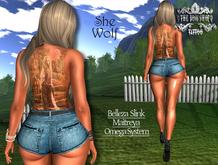 TSB ::: Tattoo She Wolf