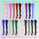 * Vanilla Bae * Kira Over The Knee Boots OTK ~ 21 Solid Colors Pack ~ Maitreya, Slink HG, Freya, Isis, Katena