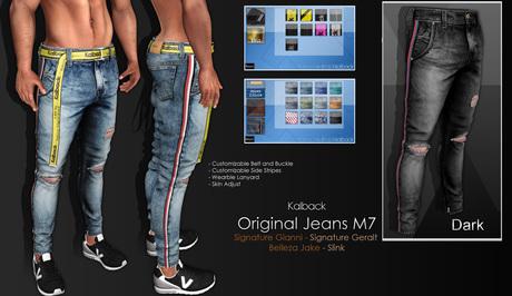 <Kalback> Original Jeans M7 Dark