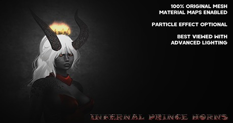 .~DN~. Infernal Prince Horns
