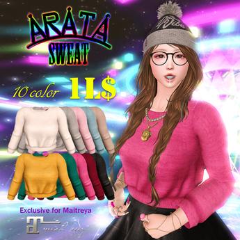 ARATA - Sweat(Maitreya)
