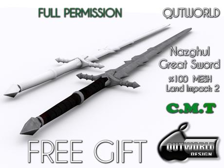 .::QUTWORLD .::Nazgul Great Sword_GIFT::.FP