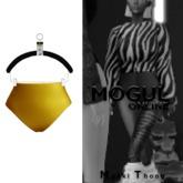MOGUL: Mykki Waist Thong - Canarys