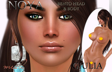 **NOYA** DEMO GIULIA Mesh Head-& Mesh Body BENTO