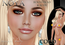 **NOYA** DEMO COCO Mesh Head & Body BENTO & Maitreya Applier