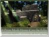 8 prim mesh home cave by felix 20x10m size copy mody