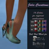** JC ** Milly Shoes Feet Mesh Maitreya/Belleza