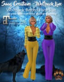 SMuG Wolfpack Line Belted Pant Suit Maitreya
