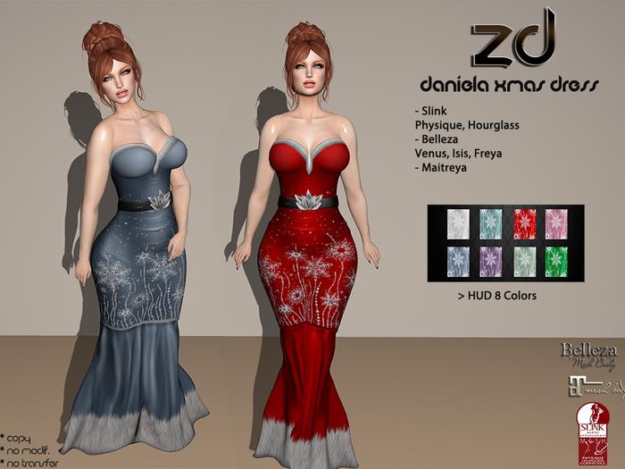 *ZD* Daniela Xmas Dress