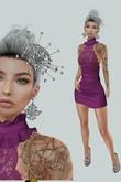 gacha outfit 429 6. Dead Dollz - Exit#2 Wisteria, Ingenue Natala Heels (Maitreya), Sintiklia hair, Modern Couture jewels