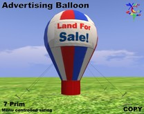 Advertising Balloon - Land For Sale