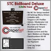 STC Bidboard Deluxe (Casperlet Version)