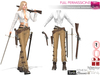 Full Perm SAVE 7IN1 Steampunk Western Outfit, Cowgirl, Slink, Maitreya, Belleza, Tonic, Ocacin