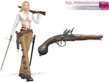 MI962885 Steampunk Gun