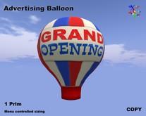 Advertising Balloon - Grand Opening