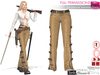 Full Perm Steampunk Western Pants Slink, Maitreya, Belleza,Tonic, Ocacin, Voluptuous and Classic