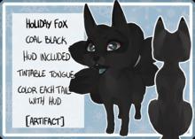 [ARTIFACT] Winter fox Black
