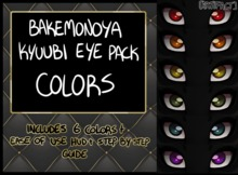 [ARTIFACT] Kyuubi Eye Pack COLORS