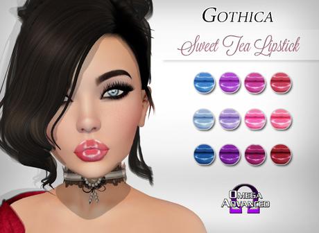 {G} Sweet Tea Lipstick Pack (Omega)