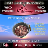 WIKO presents DFS Fishing Bait - Normal * 20 Baits * 2 PRIMS only * Important for fishing ...